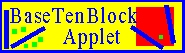 Base Ten Block Applet