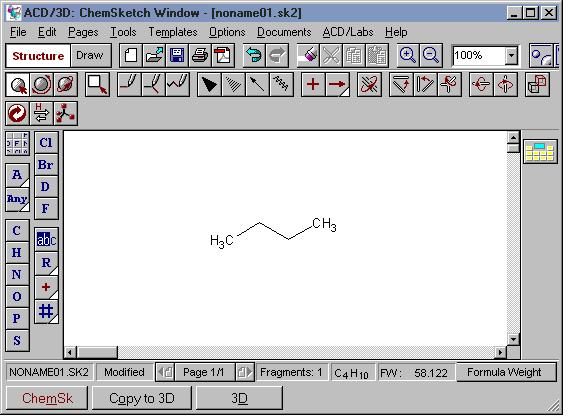 3d viewer chemsketch